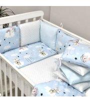 Бортики Baby Design Коты в облаках голубой