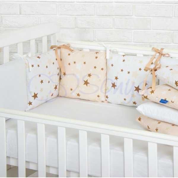 Бортики Baby Design Stars