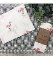 Пеленка бязь Фламинго