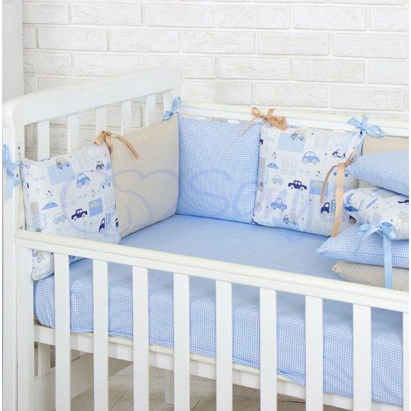 Бортики Baby Design Премиум City