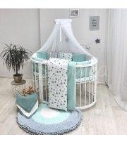 Baby Design Stars мятный