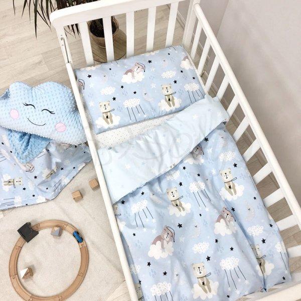 СКПБ Baby Design Коты в облаках голубой