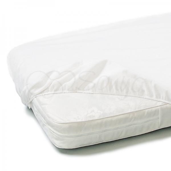 Наматрасник непромокаемый натяжной в кроватку 60х120