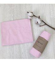 Пеленка фланель розовая