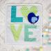 Плед-конверт Арт дизайн Love
