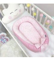 Кокон Baby Design Звезды на розовом