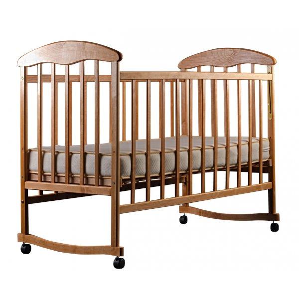 """Кроватка для новорожденных Наталка """"Ольха светлая"""""""