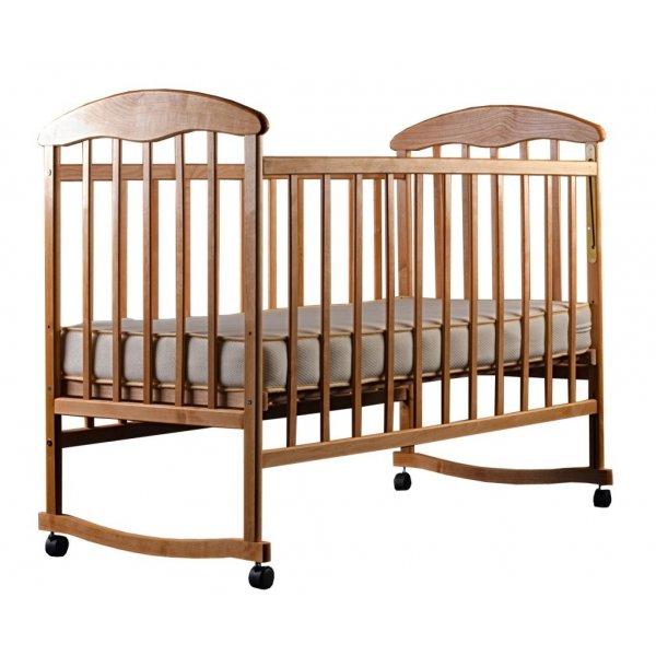 """Кроватка для новорожденных Наталка """"Ясень светлый"""""""