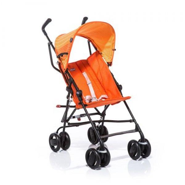 Коляска трость Chicco Snappy Stroller оранжевая (79257.76)