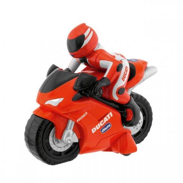 Мотоцикл на радиоуправлении Chicco Ducati 1198 RC красно-белый (00389.00)