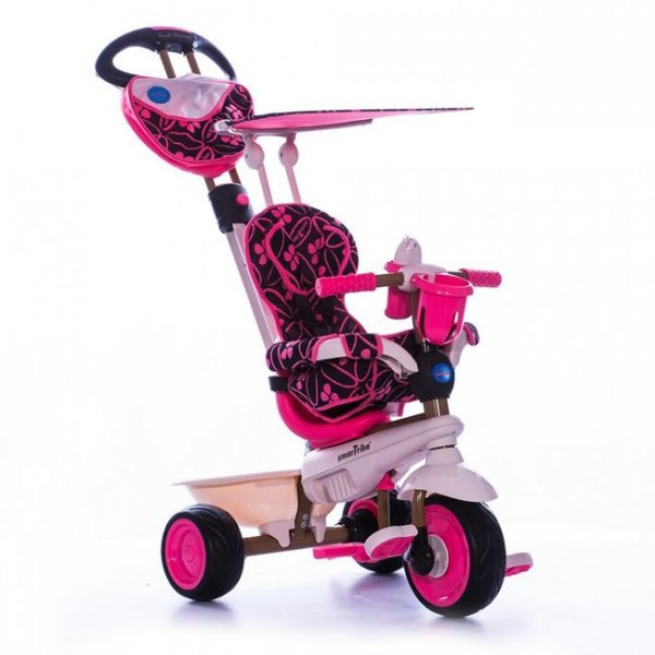 Трехколесный велосипед 4 в 1 Dream розовый Smart Trike