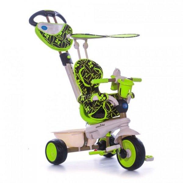 Трехколесный велосипед 4 в 1 Dream зелёный Smart Trike