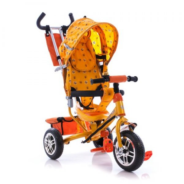 Велосипед трехколесный Azimut желтый