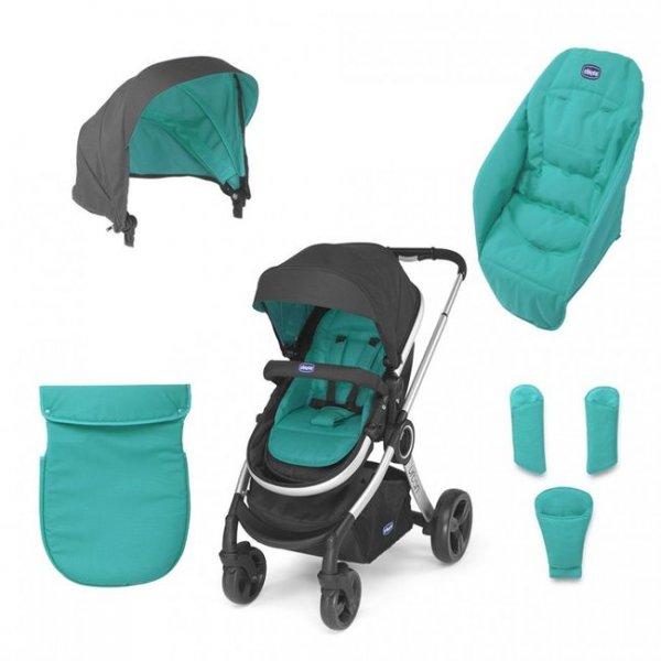 Коляска 2 в 1 Коляска Urban Stroller, отдельно нужно подбирать аксессуар (набор текстиля) (79357.95)
