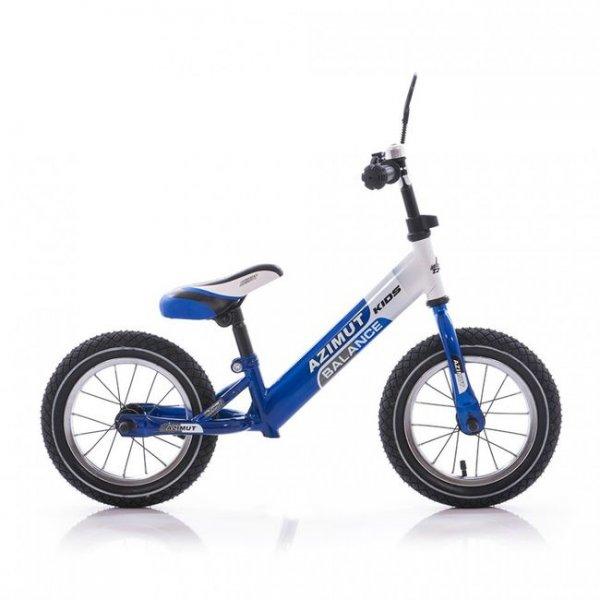 Беговел Balance bike синий-белый Azimut