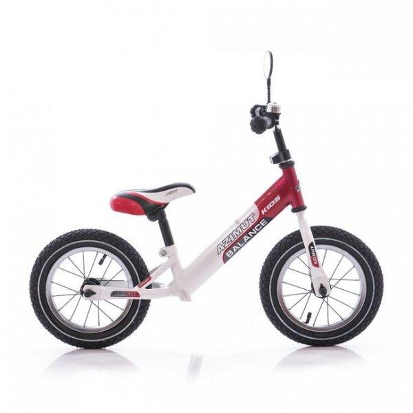 Беговел Balance bike красно-белый Azimut