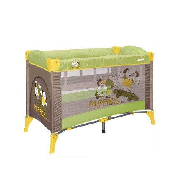 Манеж Bertoni Arena 2 layer green&beige puppies