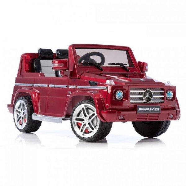 Электромобиль Mersedes Benz G 55 красный