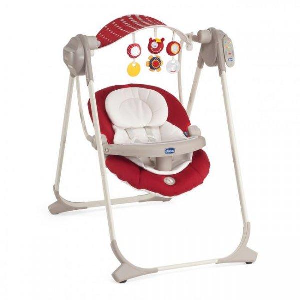 Кресло-качалка Chicco Polly Swing Up красное (79110.70)