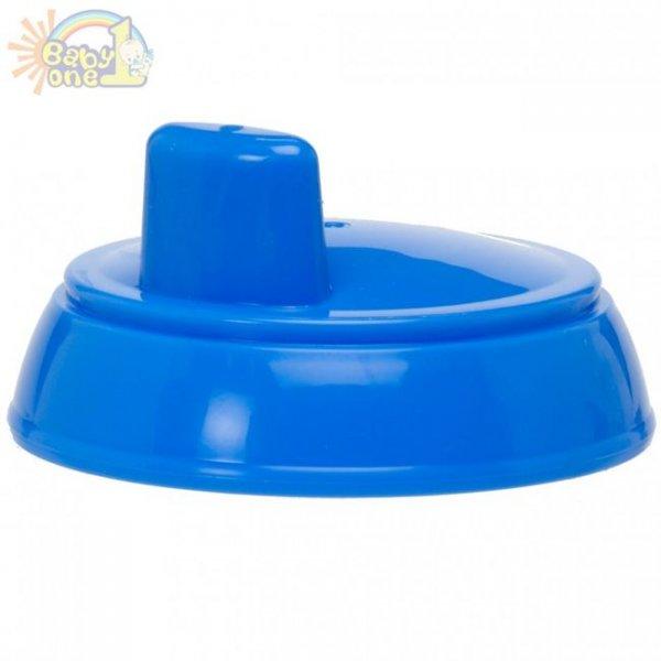 Сменный жесткий носик с клапаном для поильника Dr. Brown's голубой (949)