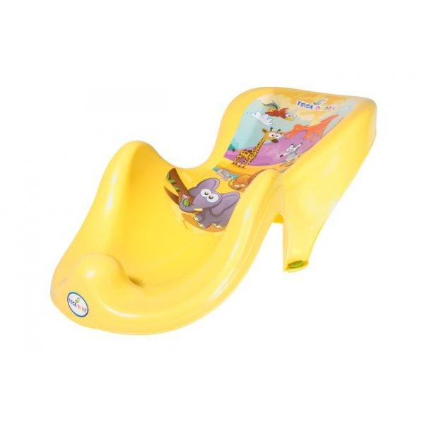 Горка для купания антискользящая Tega SF-003 Сафари желтый