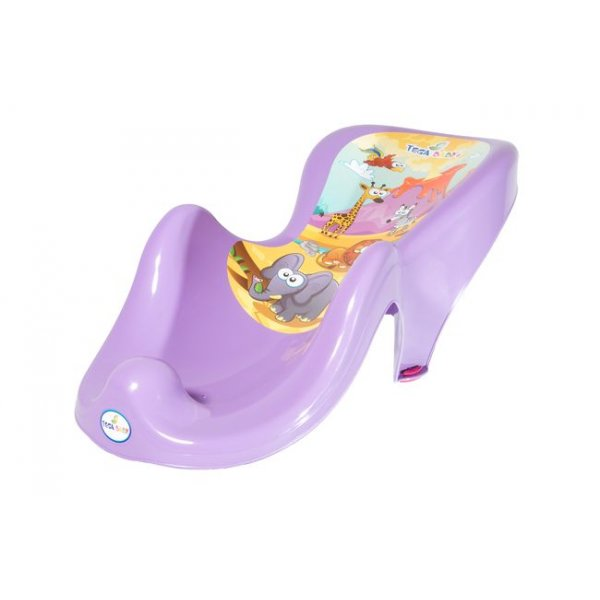 Горка для купания антискользящая Tega SF-003 Сафари фиолетовый