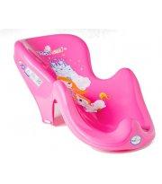 Горка для купания антискользящая Tega LP-003 Принцесы розовый