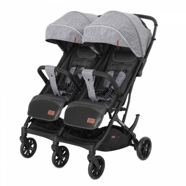 Коляска прогулочная CARRELLO Presto Duo CRL-5506 Pitch Grey