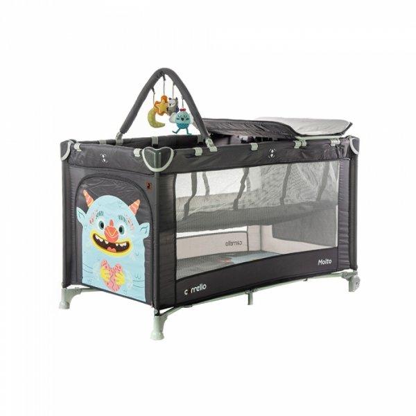 Манеж-кровать CARRELLO Molto CRL-11604 Magnet Grey