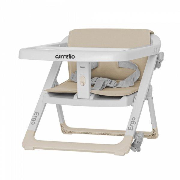 Стульчик-бустер для кормления CARRELLO Ergo CRL-8403 Sand Beige