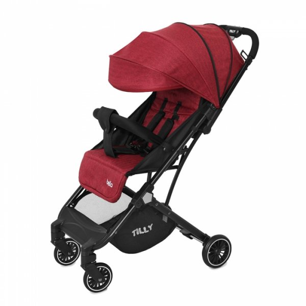 Коляска прогулочная TILLY Bella T-163 Brick Red