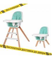 Стульчик для кормления CARRELLO Prego CRL-9504 Aqua Green