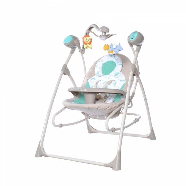 Кресло-качалка CARRELLO Nanny CRL-0005 Azure Beige