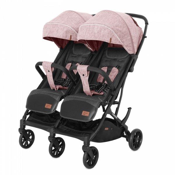 Коляска прогулочная CARRELLO Presto Duo CRL-5506 Cherry Pink