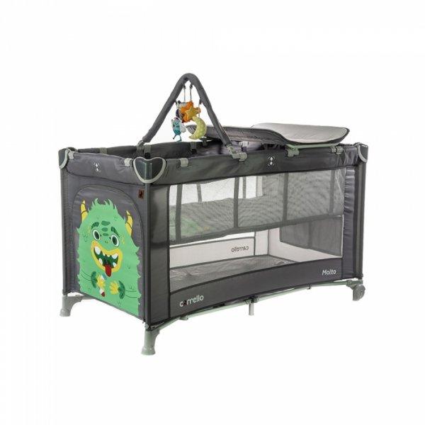 Манеж-кровать CARRELLO Molto CRL-11604 Ash Grey