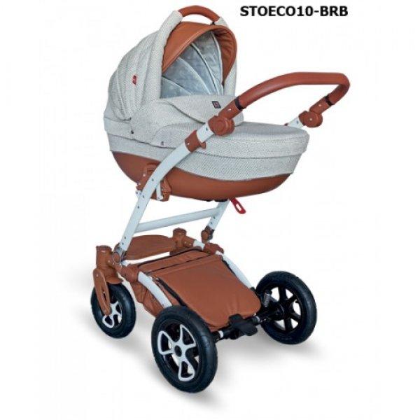 Коляска 2 в 1 Tutek Torero Eco STOECO10 BR/B