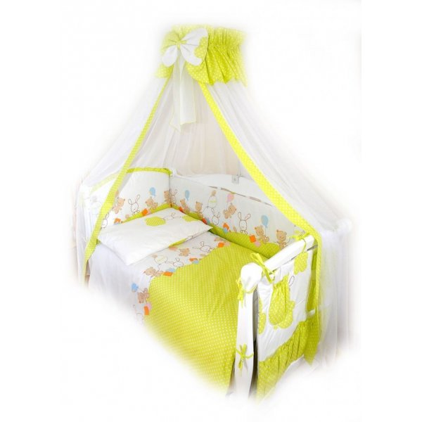 Постельный комплект Twins Comfort C-022 Горошек зелёная