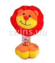Плюшевая подвеска музыкальная Baby Mix YF-1069 YF 1069 L Лев, orange, оранжевый