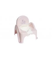 Горшок кресло Tega KR-012 Кролик без музыки KR-012-104, light pink, светло розовый