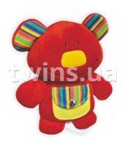 Плюшевая подвеска музыкальная Baby Mix TE-8146 Мишка TE-8146 красный, red, красный