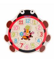 Деревянный часы Бедрик Baby Mix TP-52096 TP-52096, multicolor, мультиколир