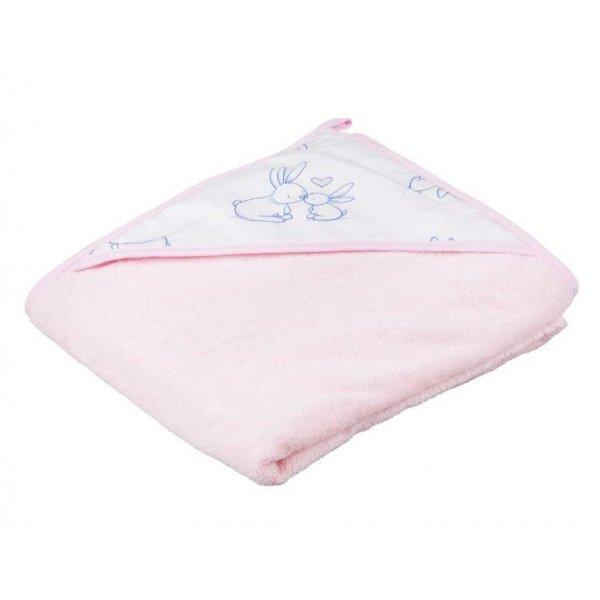 Полотенце Tega Kroliczki KR-008 100*100 pink