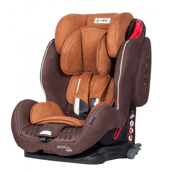 Автокресло COLETTO Sportivo ISOFIX 9-36 brown