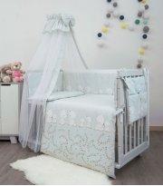 Детская постель Twins Sweet 8 эл SW-015 Umka grey