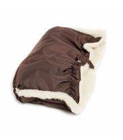 Муфты Twins Snow меховые 80-193-07, chocolate, коричневый