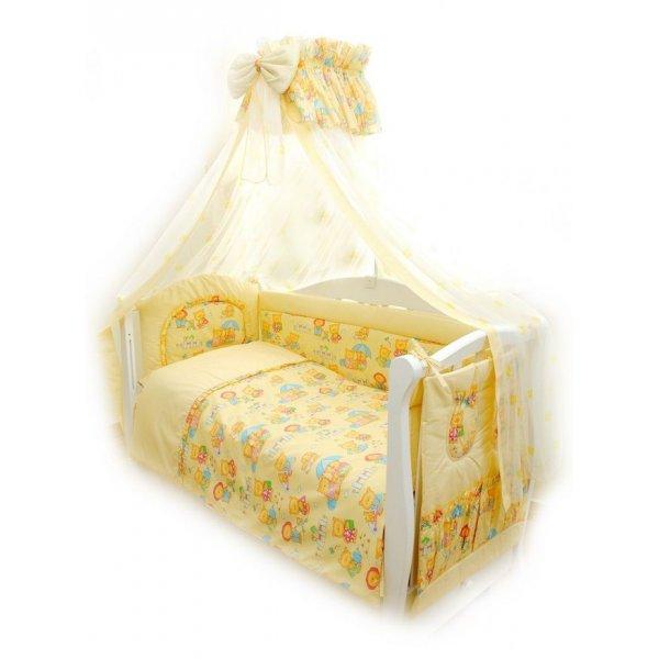 Постельный комплект Twins Comfort C-014 Пушистые медведи желтая