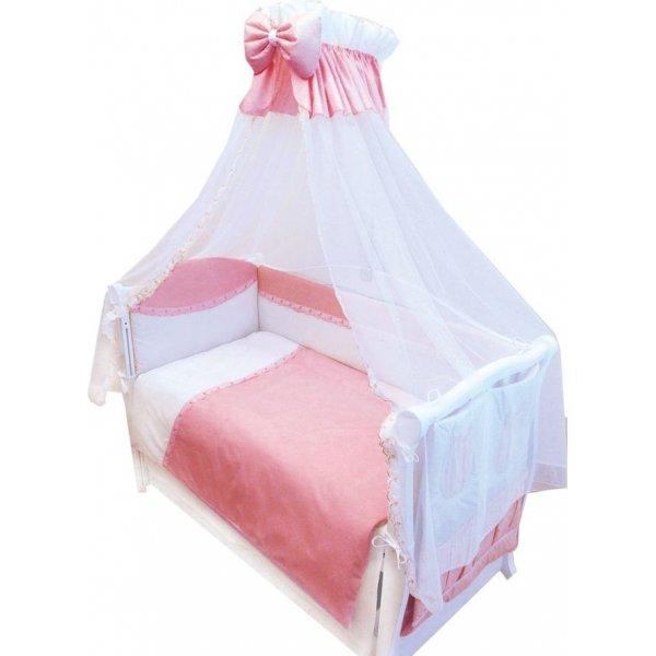 Постельный комплект Twins Magic sleep M-004 Розовая