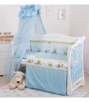 Постельный комплект 8 эл Twins Standard Basic 4050-CB-011, Медун голубые, голубой