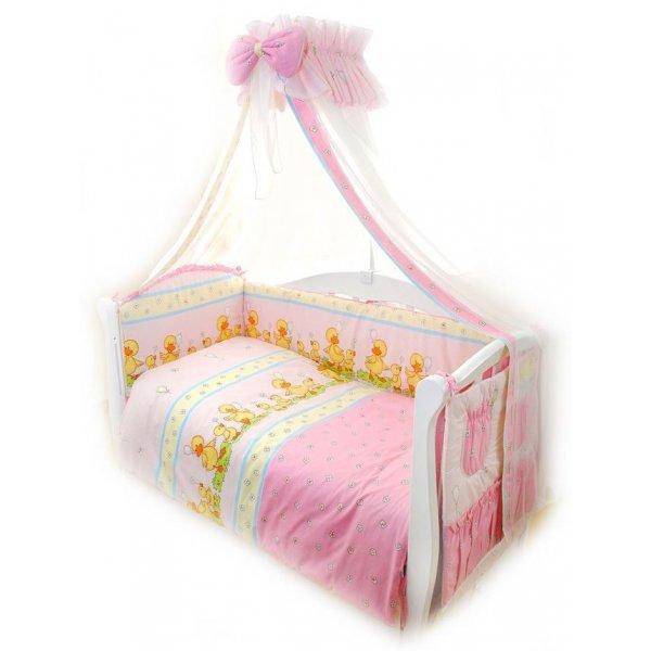 Постельный комплект Twins Comfort C-026 Уточки розовая
