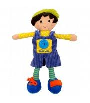 Плюшевая кукла Baby Mix TE-8488-31 TE-8488-31B Artur, boy, мультиколир
